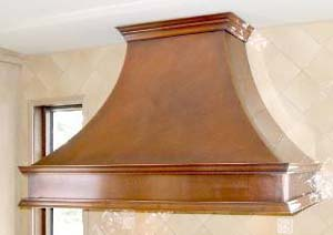 Mountains Edge Copper - Range Hood