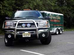 04 GMC With Trailer Front