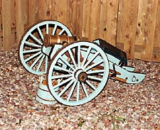 1790 Reproduction Howitzer by Artisans of the Valley Side View