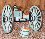 1790 Reproduction Cannon - Artisans of the Valley