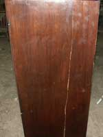 Circa 1810 Federal Dresser in Walnut Before Restoration Right View