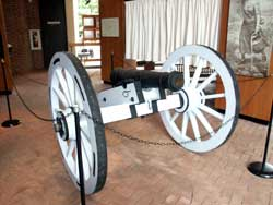 Monmouth Battlefield - Artisans of the Valley Cannon Restoration Completed