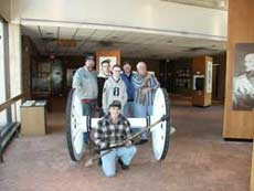 Monmouth Battlefield Museum - Cannon Restoration Crew