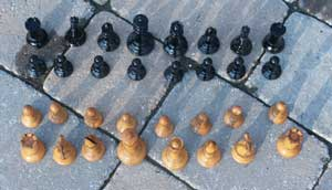 Jaques chess set - After Restoration