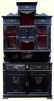Circa 1870 Esthetic Movement Hutch - Restoration Complete