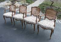 Four Victorian Chairs - Before Restoration