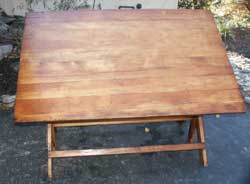 Artisans of the Valley Drafting Table Restoration Completed