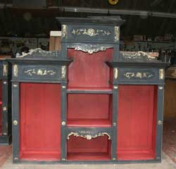 Circa 1870 Esthetic Movement Hutch - Restoration in Progress Painted Top
