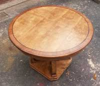Round Table Restoration by Artisans of the Valley - After Restoration