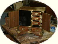 Oriental chest restoration by Artisans of the Valley - After Image