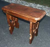 Stool Restoration - Completed Right Angle