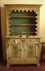 Artisans of the Valley Concise History of American Furniture - Country Style PA Dutch Cupboard