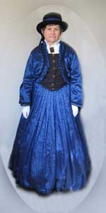 Cindy Saperstein - Civil War Dress