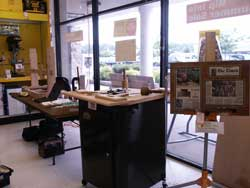 Artisans of the Valley Demonstration Setup at Woodworkers Warewhouse View 1