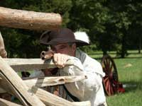 Stan Saperstein as Timothy Murphy - Monmouth Battlefield New Jersey - Artisans of the Valley Educational Services