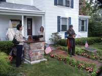 Camp Olden Monument Dedication Ceremony