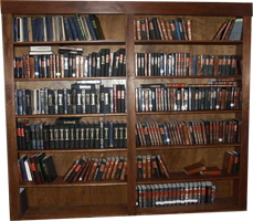 Original Design Mahogany Bookcases by Artisans of the Valley View 2