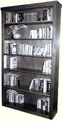 Mahogany Stand Alone Bookcase(click for larger photo)