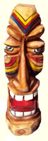 Artisans of the Valley feature Chainsaw Carving by Bob Eigenrauch - 2008 Full Color Tiki Series